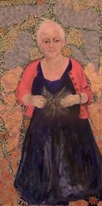 Debbie mixed media 5 ft x 2 ft 6 2014