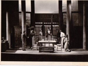 2. Theatre design Chekhov The Seagull Birmingham Rep 1964  (1024 x 768)