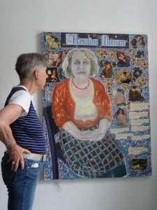 4. Pauline The Reading Woman - with Suzanne Rees Glanister