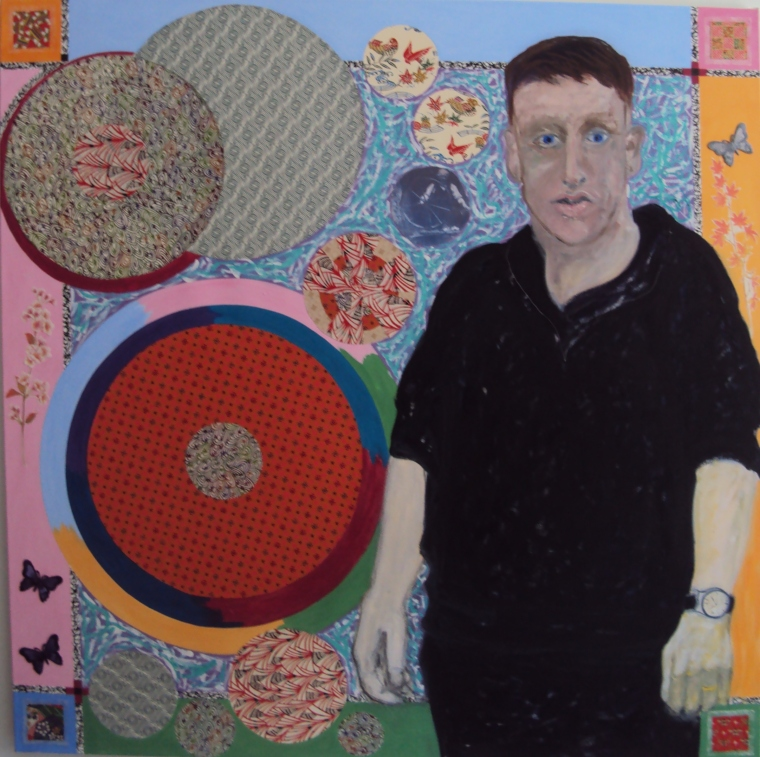 7. Tom the Weaver Mixed Media 4 ft x 4 ft