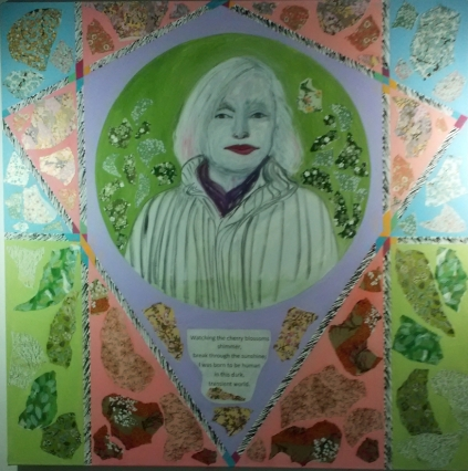 portrait-of-eva-olsen-oil-and-collage-on-canvas-4-ft-x-4-ft