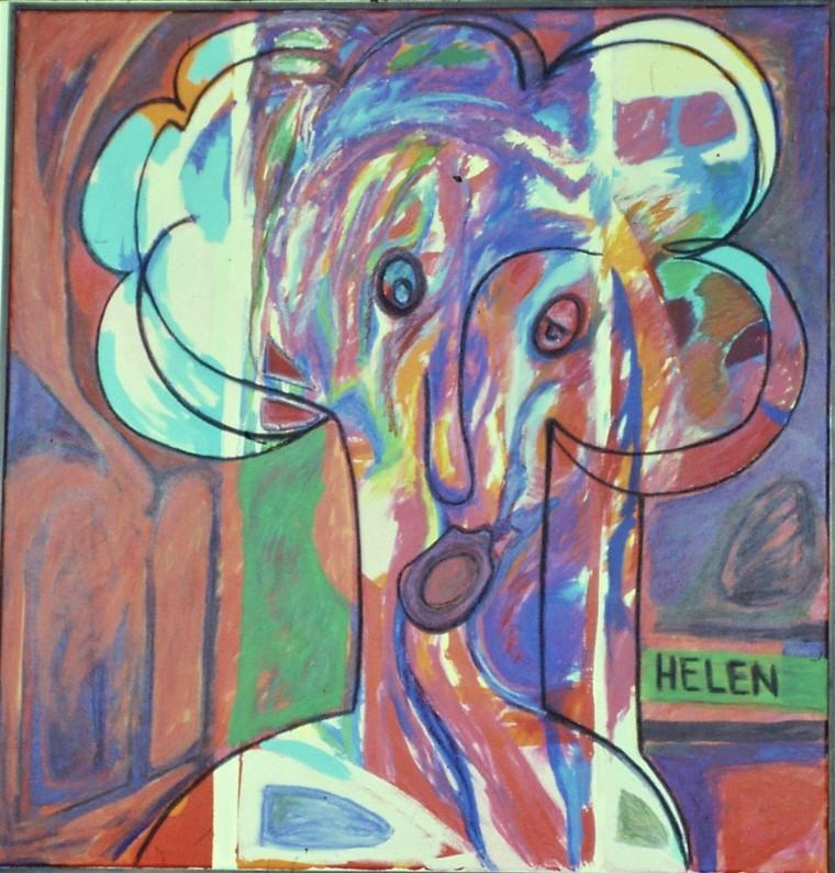 Helen 36 in x 36 in